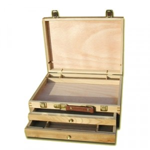 Cassetta Porta Colori 2 cassetti - cm 26x27x12