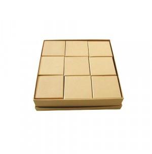 Scatole cartone Quadrata -  Set 18 + 1 Pz