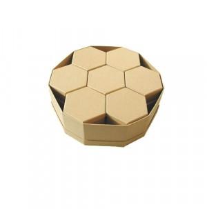 Scatole cartone Esagonale   Set 14 + 1 Pz