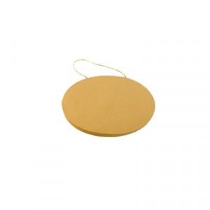 Targa cartone ovale - cm 20x14x1.5