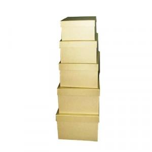 Cappelliera quadrata Set 5 Pz (Mis. Max  40X40X20cm)