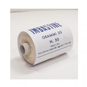 Filo imbastire Bianco 20gr - scatola 20 rotoli