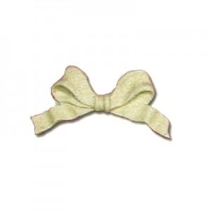 Fregio Fiocco in Pasta Legno 8x4cm