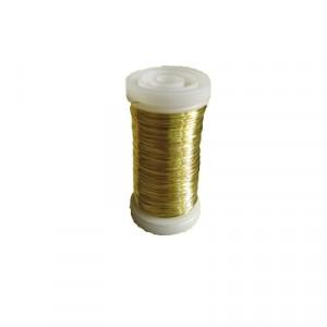 Filo Metallo Spessore 0.3 - Oro - Bobina  da gr 100