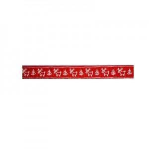 Nastro Renne Rosso mm 15 - rotolo 20mt