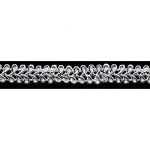 Passamaneria Argento Lurex - m/m 8 - Pezza da 20 mt