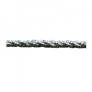 Cordone argento lurex mm3