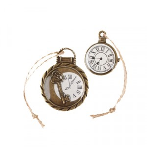 Orologio Bronzo decor. 10pz ass*