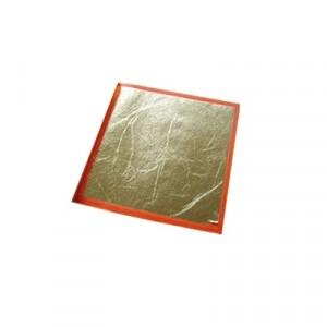 Libretto Foglia Oro Decalco - cm 14 x 14 - Libretto da 24 Fogli