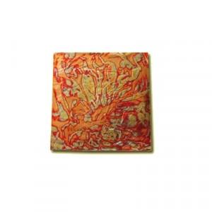 Libretto Variegato Foglia oro Base Oro - cm 14 x 14 - Libretto da 24 Fogli