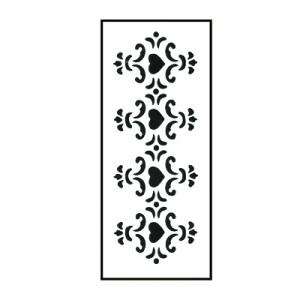 Stencil - cm 10x25