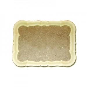 Vassoio in Pasta di Legno rettangolare cm 30x22