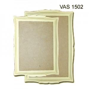 Vassoio in Pasta di legno rettangolare 38x26cm