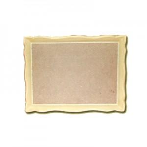 Vassoio in Pasta di Legno rettangolare cm 29x22