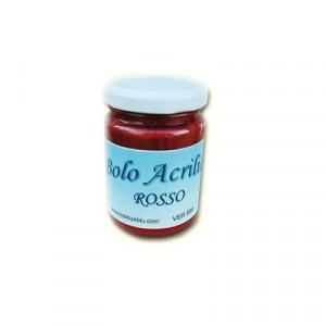 Bolo Acrilico Rosso - 150ml